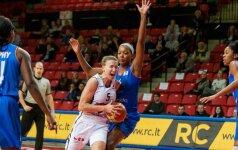 """Moterų Eurolygoje """"Kibirkštis-VIČI"""" buvo arti trečios pergalės iš eilės"""