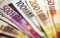 Euro zonoje išduodama daugiau paskolų
