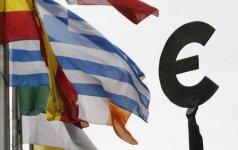 Euro zonos finansų ministrai sugriovė ES planus dėl didesnių išlaidų