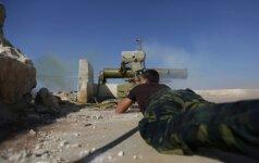 Kova Alepe intensyvėja