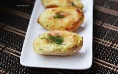 Savaitgalio gardumėlis: užkeptos bulvių puselės