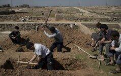 Irake per antskrydžius žuvo dešimtys žmonių