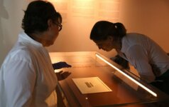 Izraelis pristatė seniausią hebrajišką Jeruzalės paminėjimą