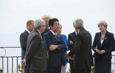 """Kinija """"stipriai nepatenkinta"""" G7 lyderių pranešimu"""