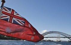 Australijoje sulaikytas vyras, kaip spėjama, mėginęs konsultuoti IS raketų klausimais