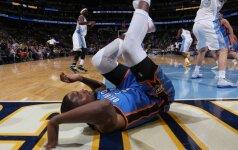K. Durantui šis NBA sezonas jau gali būti baigtas