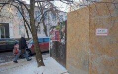Stebuklai Vilniuje: užgrobus valstybinę žemę vilniečiai liko be šaligatvio
