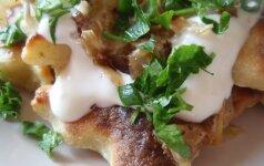 Klebono gaspadinės bulvių maltiniai
