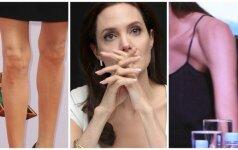 37 kg sverianti A. Jolie MARINA SAVE BADU: B. Pittas prašo medikų pagalbos