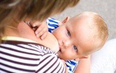5 metų dukrytę žindanti mama sustoti neketina apklausa
