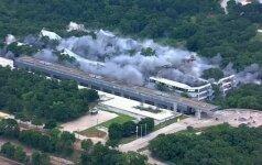 """Teksase susprogdinta buvusi """"American Airlines"""" būstinė"""