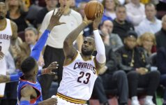 """""""Cavaliers"""" klubas turėjo vargo dvikovoje su NBA autsaideriais"""