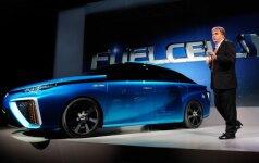 Toyota vandenilinis automobilis