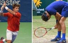 Vimbldono burtai: jau antrame rate – potenciali R. Berankio ir R. Federerio akistata