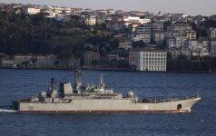 Ispanija spaudžiama neleisti Rusijos karo laivams įsipilti degalų savo uoste