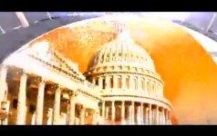 Šiaurės Korėjos propagandiniame filmuke - grasinimas susprogdinti Baltuosius Rūmus