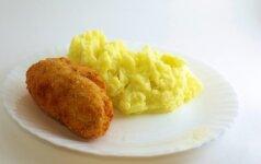 Naminių Kijevo kotletų receptas