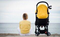 Psichologė: kaip mamos emocijos persiduoda kūdikiui