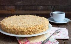 Tinginių pyragas (gaminimas - 10 min., ingredientai - 5)