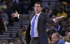 """""""Lakers"""" išsirinko trenerį: į Los Andželą grįžta L. Waltonas"""
