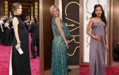 """Išrinkite stilingiausią """"Oskarų"""" nėštukę FOTO"""