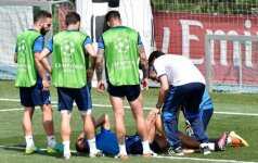 Cristiano Ronaldo patyrė traumą