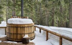 Kaip pasirūpinti lauko kubilu žiemą?