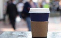 Eksperimentas su vienkartiniais puodeliais: pabandė apsieiti be jų