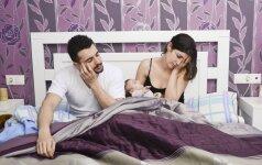 Psichologė: kas dažniausiai išprovokuoja pykčius po gimdymo