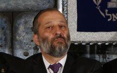 Izraelio ministras apklausiamas dėl įtarimų korupcija, praneša žiniasklaida