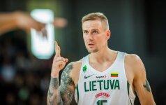 Ačiū! R. Javtokas baigė karjerą Lietuvos rinktinėje