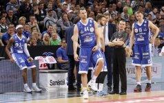 Paaiškėjo komandos, žaisiančios FIBA Čempionų lygoje
