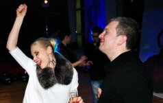 Šokių projekto dūzgėse Deivydas Zvonkus šėlo su buvusia žmona