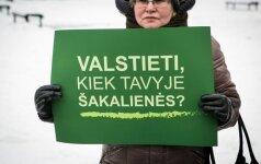 Dėl vaikų nemušimo įstatymo D. Šakalienė susikirto su R. Dagiu