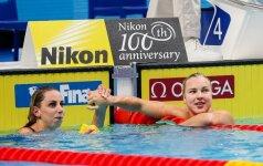 Rūta Meilutytė ir Jennie Johansson