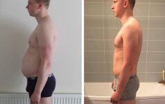 13 kg ir pilvo atsikratęs Vytis: norintiems sulieknėti turiu paprastą patarimą