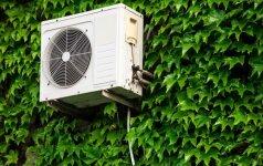 Ar norint tvirtinti kondicionierių pastato išorėje reikia gauti leidimą?