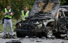 Automobilio sprogimas Kijeve
