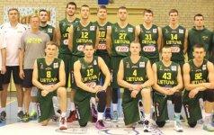 Lietuvos studentų krepšinio rinktinė kontroliniame mače sutriuškino Latvijos 20-mečių ekipą