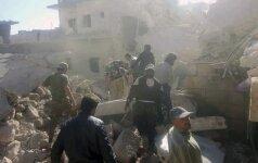 Sirijos opozicija pasiruošusi be išankstinių sąlygų atnaujinti taikos derybas