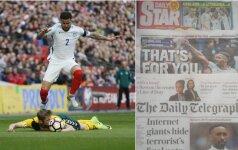 Anglijos spauda po rungtynių su Lietuva