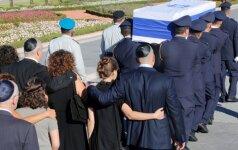 Izraelio ir pasaulio lyderiai atsisveikina su buvusiu šalies prezidentu S. Peresu