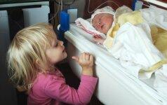 Kaip paruošti vaiką brolio ar sesės gimimui