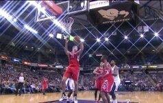 """""""Rockets"""" su D. Motiejūnu krito prieš R. Gay vedamą """"Kings"""" klubą"""