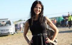 Aistė Pilvelytė: maža juoda suknelė jai tinka