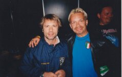 Martynas Starkus su Bruce Dickinson (Iron Maiden)