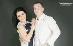 Monika Katunskytė su scenos partneriu Tomu