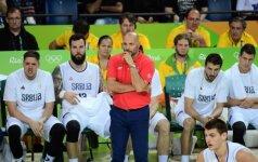 Pajuokauti bandęs serbų treneris paskaičiavo: iššūkį JAV mesime po 10-12 metų