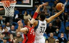 """J. Valančiūną maudė 20-metis NBA naujokas, o """"Raptors"""" pralaimėjo"""