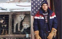 Garsus sportininkas išgelbėjo 90 šunų gyvybių: jie nusipelnė augti jaukiuose namuose